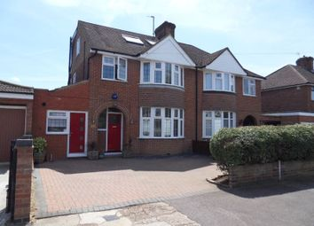 Thumbnail 4 bedroom semi-detached house to rent in Risborough Road, Bedford