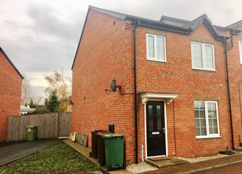 Thumbnail 3 bed semi-detached house for sale in Colliery Street, New Sharlston, Wakefield