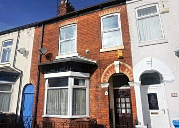 Thumbnail 3 bed terraced house for sale in Duesbury Street, Hull