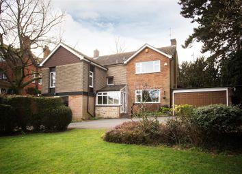 Thumbnail 4 bedroom detached house for sale in Belper Road, Derby
