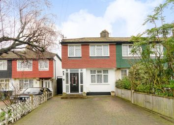 Thumbnail 3 bed end terrace house for sale in Meadway, Surbiton