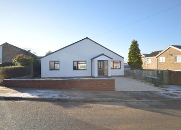 Thumbnail 4 bed bungalow for sale in Fieldway Crescent, Great Glen, Leicester