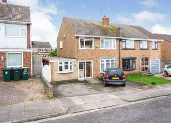 Thumbnail 4 bed semi-detached house for sale in Dalby Close, Coventry