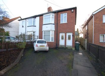 Thumbnail 2 bedroom flat for sale in Front Street, Dinnington, Newcastle Upon Tyne
