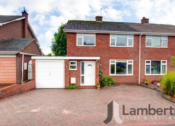 Thumbnail 3 bed semi-detached house for sale in Windmill Lane, Inkberrow, Worcester