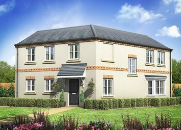 "Thumbnail 4 bed detached house for sale in ""The Rowley"" at Manor Drive, Pickering"