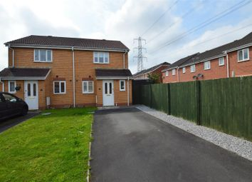 Thumbnail 2 bed semi-detached house to rent in Coed Mieri, Tyla Garw, Pontyclun