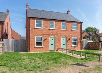 Thumbnail 2 bed semi-detached house for sale in Fleet Road, Fleet, Spalding
