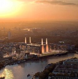 Thumbnail 1 bed flat for sale in Battersea Power Station, Nine Elms