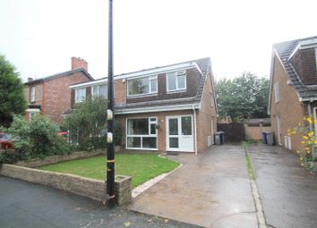 Thumbnail 3 bed semi-detached house for sale in Worthington Road, Sale