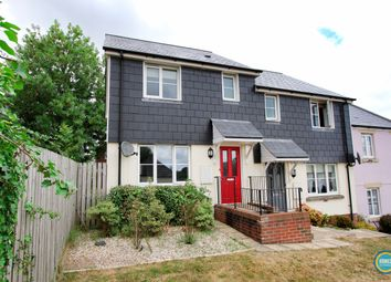 Thumbnail 3 bed semi-detached house for sale in Kit Hill, Launceston