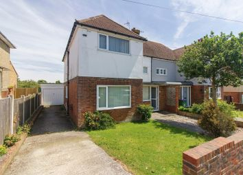 Thumbnail 4 bed semi-detached house for sale in Walton Gardens, Folkestone