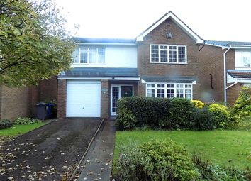 Thumbnail 4 bed detached house for sale in Hesnall Close, Glazebury, Warrington, Cheshire