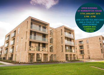 Thumbnail 2 bed flat for sale in Vawser Way, Cambridge
