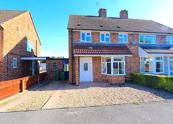 Thumbnail 3 bed semi-detached house for sale in Princess Drive, Kirby Muxloe, Leicester