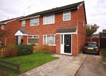 Thumbnail 3 bed semi-detached house for sale in Guillemot Close, Crewe