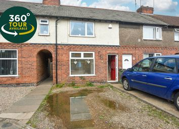 Thumbnail 2 bed town house for sale in Chatsworth Avenue, Wigston, Leicester