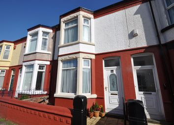 Thumbnail 3 bed terraced house for sale in Rowson Street, Wallasey