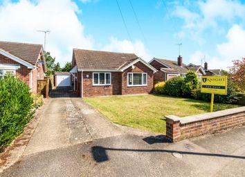 Thumbnail 3 bedroom detached bungalow for sale in Broadwheel Road, Helpston, Peterborough