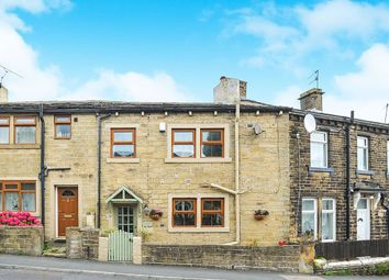 Thumbnail 2 bed terraced house for sale in Haworth Road, Cullingworth, Bradford