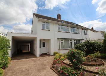 Thumbnail 3 bed semi-detached house for sale in Queens Road, St. Thomas, Exeter
