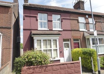 Thumbnail 2 bed end terrace house for sale in Sigismund Road, Norwich