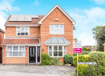 Thumbnail 5 bed detached house for sale in Alconbury Way, Worksop