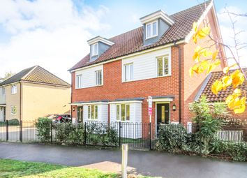 Thumbnail 3 bed detached house for sale in Brentwood, Eaton, Norwich