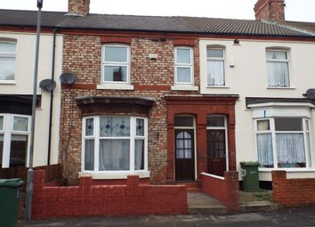 Thumbnail 3 bed terraced house for sale in Zetland Road, Stockton-On-Tees