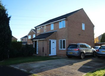 Thumbnail 2 bed semi-detached house for sale in Knaith Close, Yarm