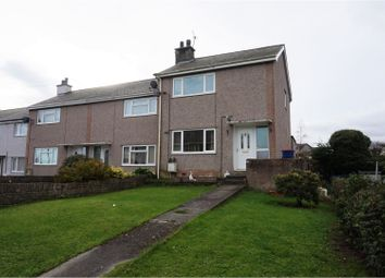 Thumbnail 2 bed end terrace house for sale in Bro Llewelyn, Llandegfan, Menai Bridge
