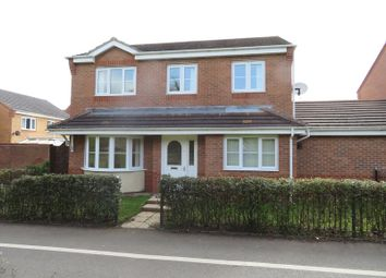 Thumbnail 4 bed detached house for sale in Lupin Walk, Nuneaton, Warwickshire.