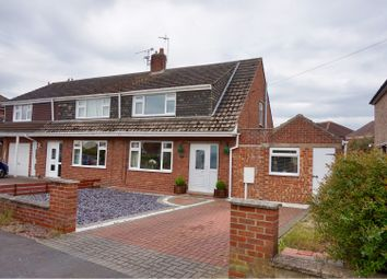Thumbnail 3 bed semi-detached house for sale in Constance Avenue, Lincoln