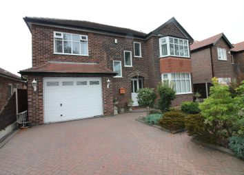 Thumbnail 5 bed detached house for sale in Entwisle Avenue, Urmston, Manchester