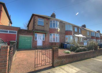 Thumbnail 3 bed semi-detached house for sale in Thorntree Drive, Newcastle Upon Tyne