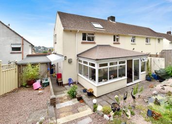 Thumbnail 3 bed end terrace house for sale in Woodlands Road, Newton Abbot, Devon