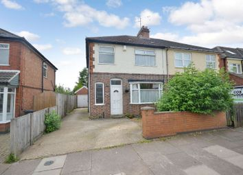 Thumbnail 3 bedroom semi-detached house for sale in Aylestone Drive, Aylestone, Leicester