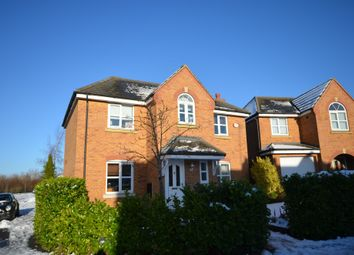 Thumbnail 4 bed detached house for sale in Newmarket Close, Corby