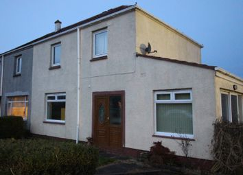 Thumbnail 3 bed semi-detached house for sale in Blackfaulds Road, Cumnock, Ayrshire