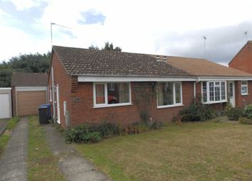 Thumbnail 2 bedroom semi-detached bungalow for sale in Braziers Wood Road, Ipswich, Suffolk