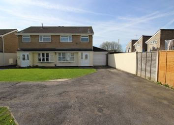 Thumbnail 3 bed semi-detached house for sale in Kelting Grove, Clevedon