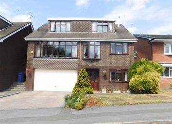 Thumbnail 4 bed detached house for sale in Glenside Drive, Woodley, Stockport