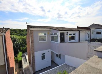 Thumbnail 4 bed semi-detached house for sale in Erlstoke Close, Plymouth, Devon