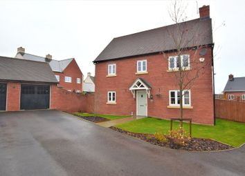 4 bed detached house for sale in Cowslip Close, St George's Fields, Wootton, Northampton NN4