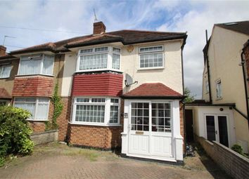 Thumbnail 3 bed semi-detached house to rent in Napier Close, West Drayton, Middx