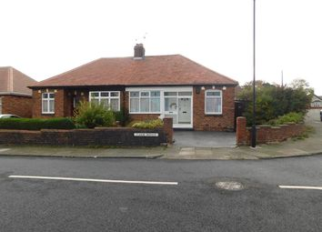 Thumbnail 2 bed bungalow for sale in Tudor Avenue, North Shields