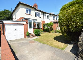 Thumbnail 3 bed semi-detached house for sale in Stonegate Road, Meanwood, Leeds, West Yorkshire