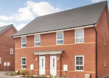 "Thumbnail 3 bedroom terraced house for sale in ""Finchley"" at Cranmore Circle, Broughton, Milton Keynes"