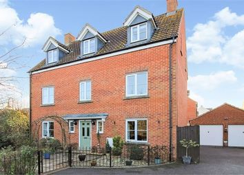 Thumbnail 5 bed detached house for sale in Kempe Way, Weston Village, Weston-Super-Mare, North Somerset.