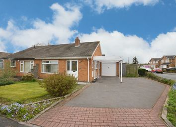 Thumbnail 2 bed semi-detached bungalow for sale in Mollington Crescent, Shirley, Solihull